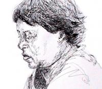 portrait sketch 4