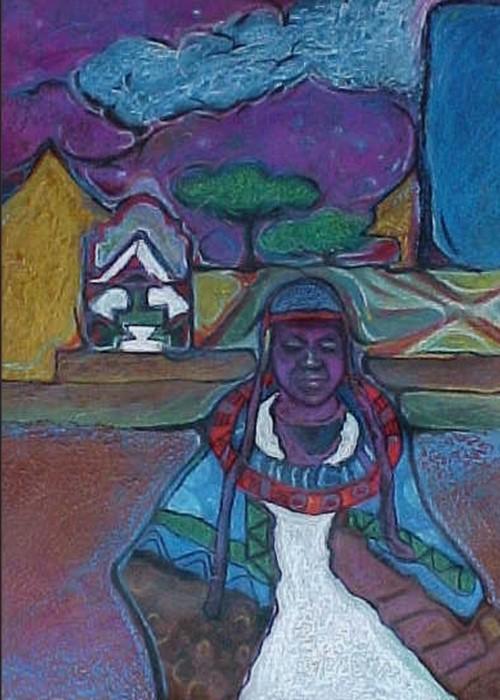 affrican village